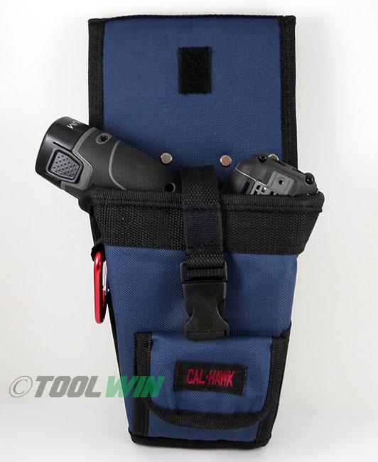 Cordless Drill Holster Tool Belt Pouch w/ Bit Holder Heavy ...